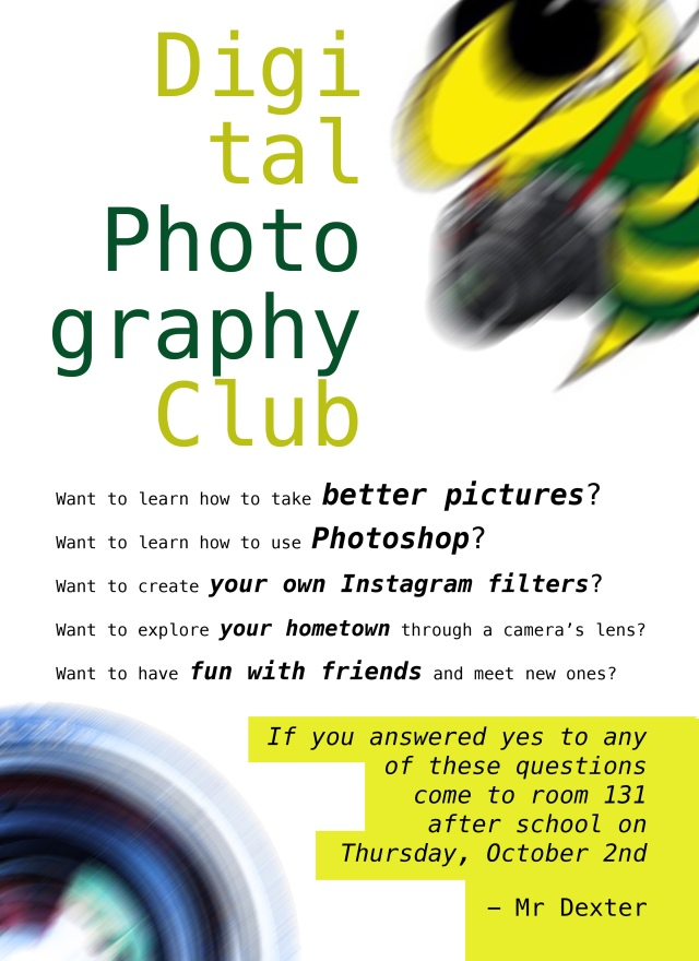 Photo Club Poster