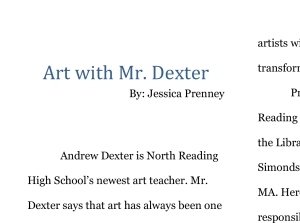 Art with Mr Dexter-1