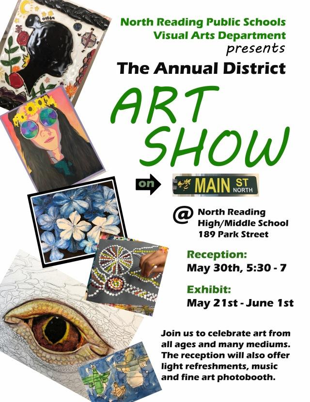 District Art Show Poster 2018