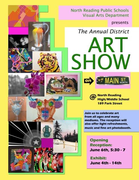 District Art Show Poster 2019
